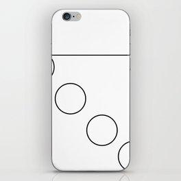 The Falling Circle iPhone Skin