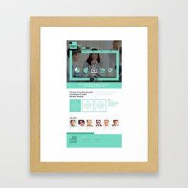 225+ Premium Responsive Best Joomla Templates Framed Art Print