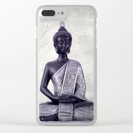 Buddha  - JUSTART © Clear iPhone Case