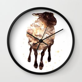 Silly Ewe Wall Clock