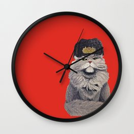 For Mother Russia Wall Clock