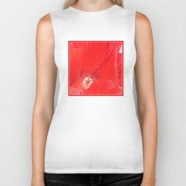 Red Hibiscus | Flower | Flowers | Nadia Bonello | Canada Biker Tank