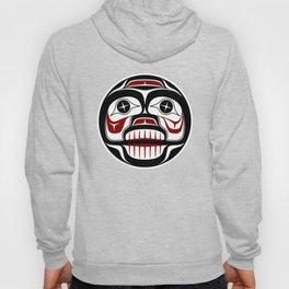 Northwest Pacific coast Haida Weeping skull Hoody