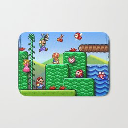Super Mario 2 Bath Mat