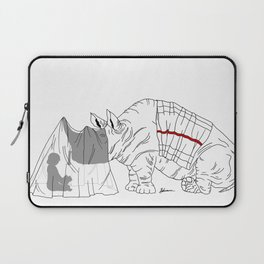 Danger Kids: Reading Rhino Laptop Sleeve