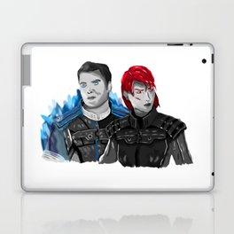 Renegade Shepard & Paragon Kaidan Laptop & iPad Skin