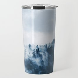 Cloudy and Foggy Forest Travel Mug