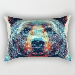 Bear - Colorful Animals Rectangular Pillow