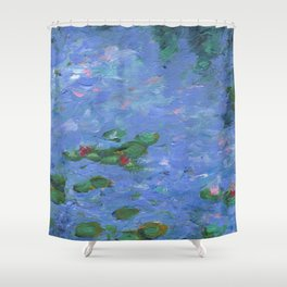 No Monet, No Problems Shower Curtain