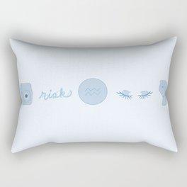 Aquarius Aesthetics Rectangular Pillow