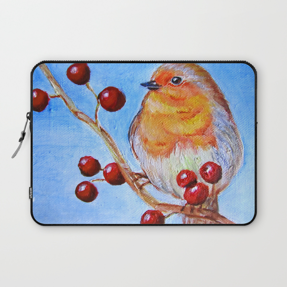 Robin Redbreast Laptop Sleeve (LSV3732424) photo