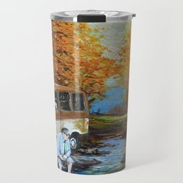 Living in a Van, Down by the River Travel Mug