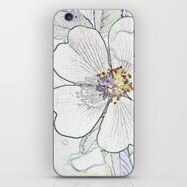 They call me the wild, wild rose iPhone Skin