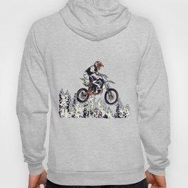 """""""High Flyer"""" Motocross Racer Hoody"""