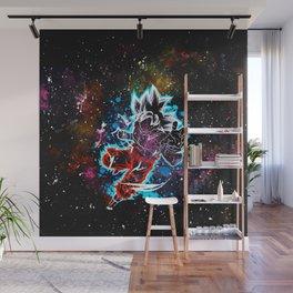 son goku art Wall Mural