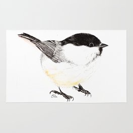 Willow Tit Rug