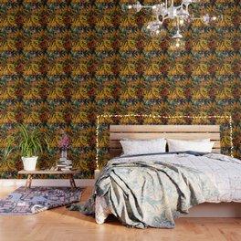 Cedar And Pine, Forest Floor Wallpaper