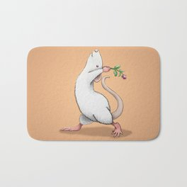 Yoga Rat, Day 6 Bath Mat