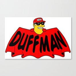 Duffman Canvas Print