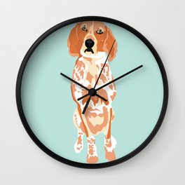 George Sitting Wall Clock