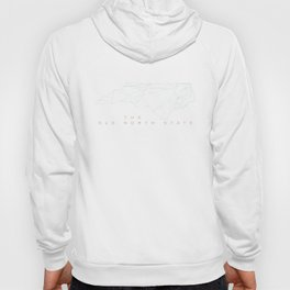 old north subtle wire Hoody