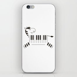 Life is like a piano iPhone Skin
