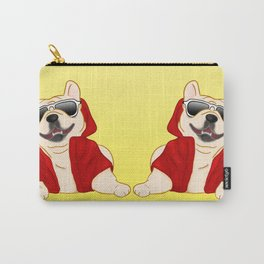 Stylin French Bulldog Carry-All Pouch