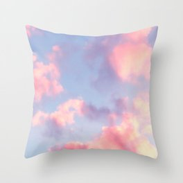 Whimsical Sky Throw Pillow
