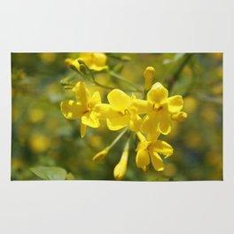 Fragrant Yellow Flowers Of Carolina Jasmine Rug