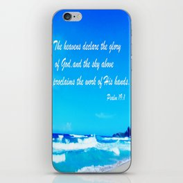 Psalm 19 iPhone Skin