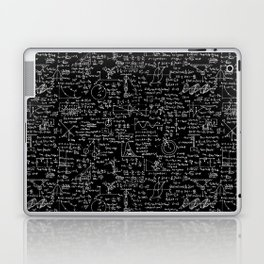 Physics Equations on Chalkboard Laptop & iPad Skin