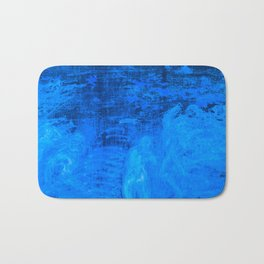 In liquid Indigo Bath Mat