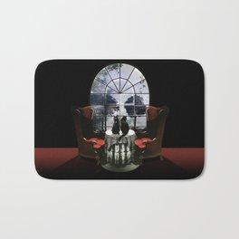 Room Skull Bath Mat