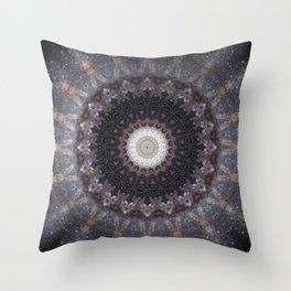Suki (Space Mandala) Throw Pillow