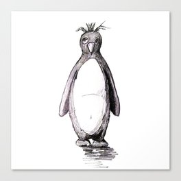 Bad Day Penguin Canvas Print