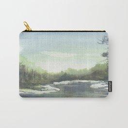 Landscape, Watercolour Carry-All Pouch