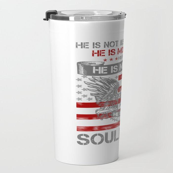 He is my Hero - Soulmate Travel Mug