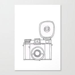 Click Click Click Canvas Print