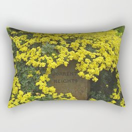 Sorrento Heights (Floral) Rectangular Pillow