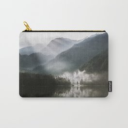 Mountains fog Carry-All Pouch
