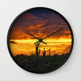 The Essential Beauty of the Southwest Wall Clock