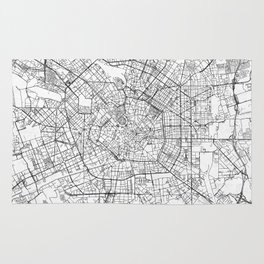 Milan Map Line Rug