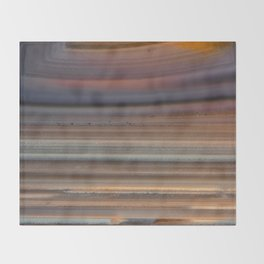 Back Lit Agate Throw Blanket