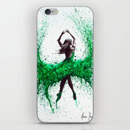 An Emerald Love iPhone Skin