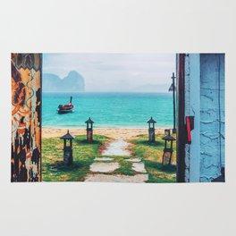 Doors to paradise Rug