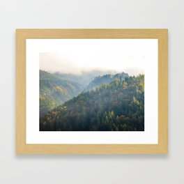 How Green Is My Valley Framed Art Print