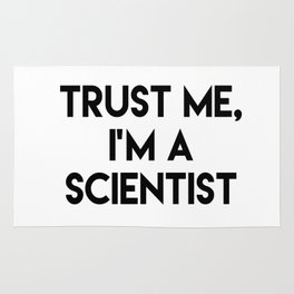 Trust me I'm a scientist Rug