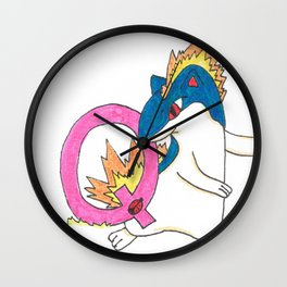 Q is for Quilava Wall Clock