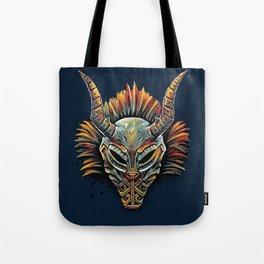 Killmonger Tribal Mask Tote Bag