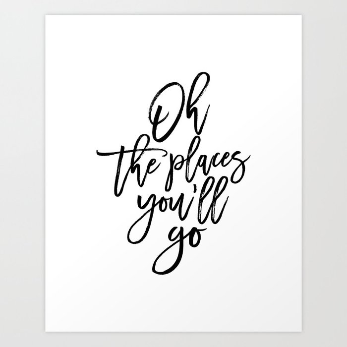 picture regarding Oh the Places You'll Go Printable titled Dr quotation,Printable Artwork,Oh The Puts Youll Move,Drive Poster,Generate Present,Nursery Decor,Quotation Prints Artwork Print through alextypography